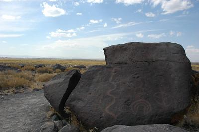Grimes Point Petroglyph field, Nevada
