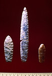 Paleo-Indian projectile points from the Agate Basin Site in Wyoming. Not really intended as art but they are works of art.