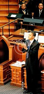President Barack Obama atThe Historic Ebenezer Baptist Church Congregation.