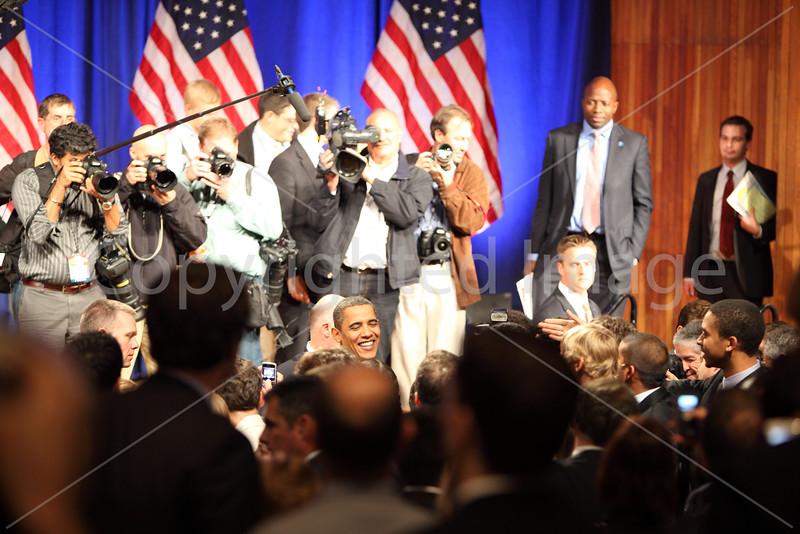 President Barack Obama at MIT, October 23, 2009.