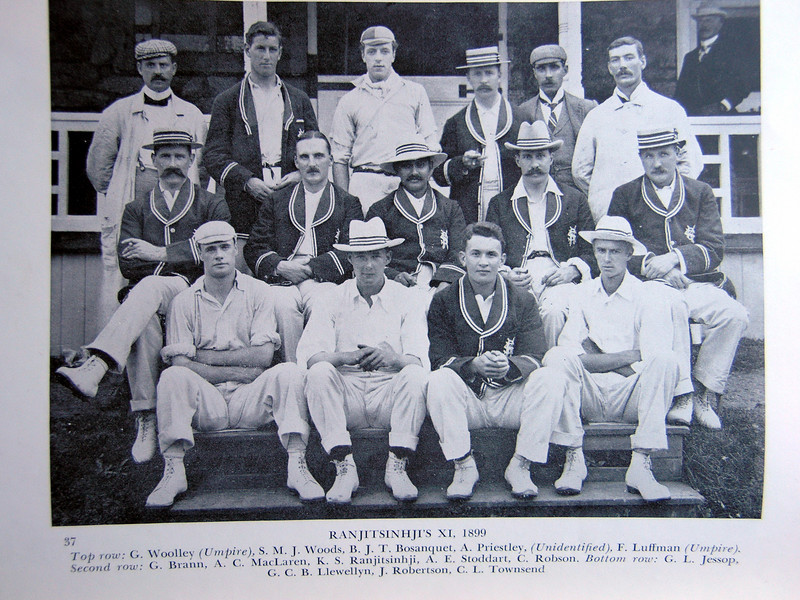 Ranjitsinhji's US Touring Team, 1899<br /> The Prince put together the best team money could buy and came to America to recapture his honor.