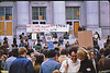 4*Tue, May 5, 1970<br /> *People: crowd<br /> Subject: Kent State march<br /> *Place: Sproul Hall steps<br /> Activity: protest<br /> Comments: 2.5X