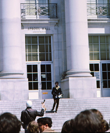 3*Wed, Apr 15, 1970<br /> *People: black kid, reporter<br /> Subject: <br /> *Place: Sproul Hall<br /> Activity: <br /> Comments: