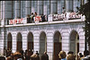 3*Tue, May 5, 1970<br /> *People: crowd<br /> Subject: Wheeler Hall<br /> *Place: UCB<br /> Activity: protest<br /> Comments: