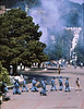 4*Wed, Apr 15, 1970<br /> *People: line of cops<br /> Subject: <br /> *Place: Dwinelle  Plaza<br /> Activity: <br /> Comments: