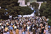4*Wed, Apr 15, 1970<br /> *People: large crowd, huge clouds of gas<br /> Subject: gas<br /> *Place: between Wheeler Hall and Sather Gate<br /> Activity: <br /> Comments: