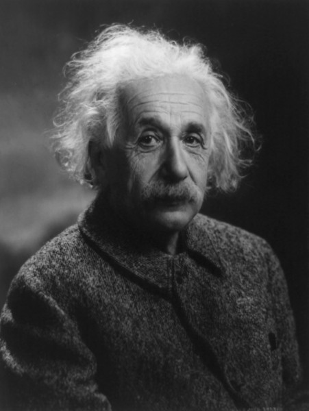 Albert Einstein - Library of Congress Photo - John Brody Photography @ JohnBrody.com