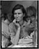 destitute; pea; pickers; california; mother; seven; children; 1963; during; depression
