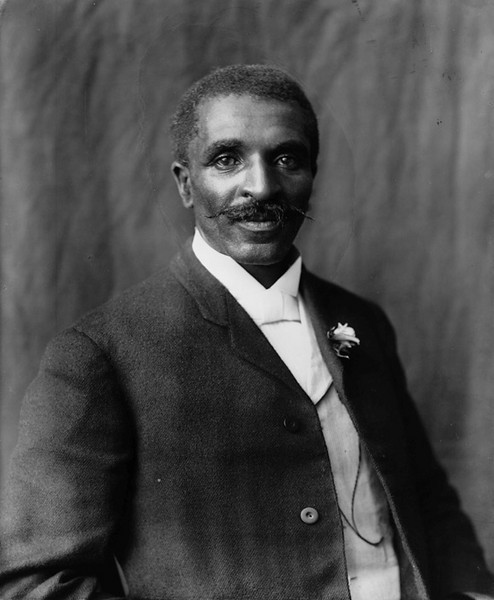 George Washington Carver - Library of Congress Photo - John Brody Photography @ JohnBrody.com