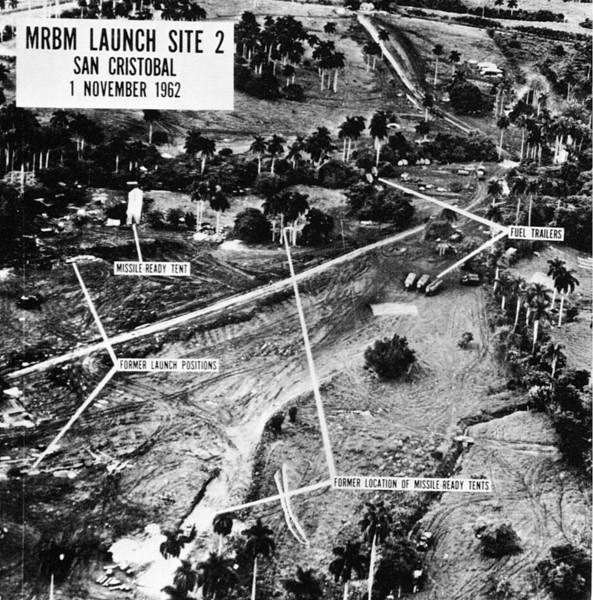 MRBM Launch Site 2 at Cuban Missile Crisis