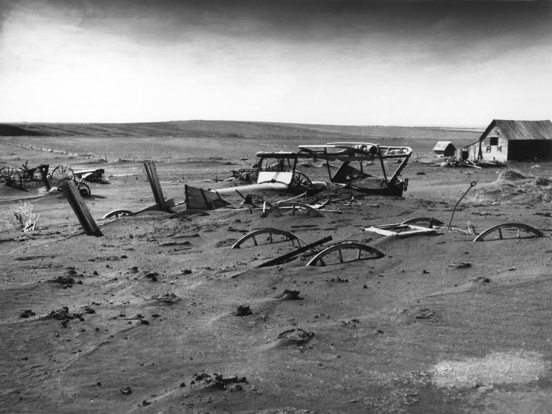 Dust Bowl - Dallas South Dakota - 1936