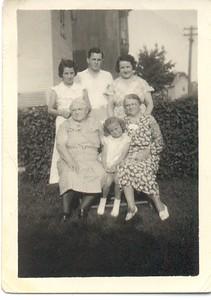 Borghild, Arthur, Margaret Jennie, Lois, Hansine