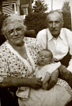 Jennie & William Quayle, unknown baby