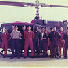 87. 1973 I think. From left, Cpl Bauer, corpsman ?, me in back, Major Conner in front, Dave Schmidt in back, SSgt Vic Heflin in front in orange, Sgt Jesse Wright, Sgt Kenneth Shoemake, Crewman ?, SSgt Ray Cronkite in green cap, corpsman ?, Corpsman ? and Corpsman ?