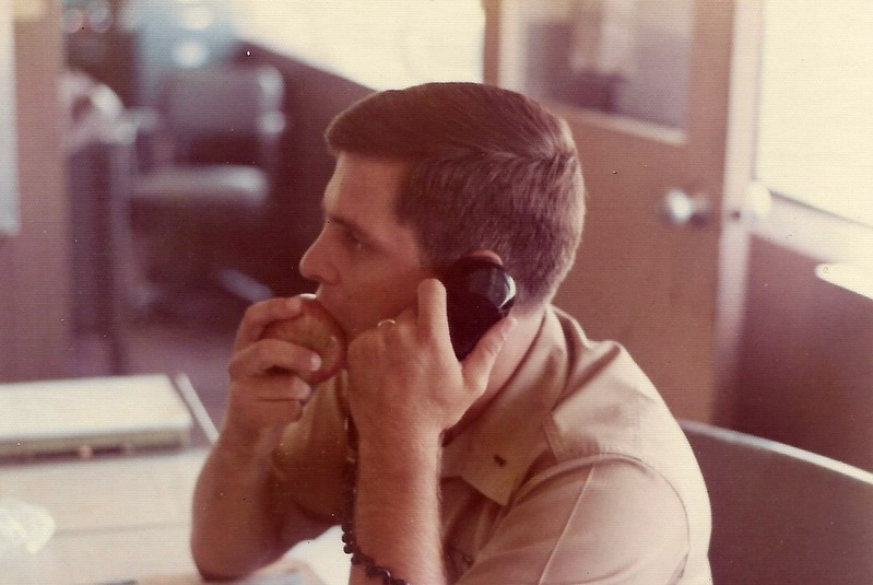 20. This was a great fellow Marine. Wish I could recall his name. Flew jets, but here, he was assigned Ops Duty Officer.