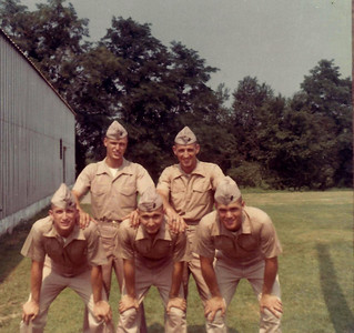Marine PLC Program; Summer Trgn 1967 and '68 Quantico, VA