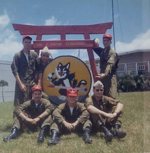 With VMO-6 at MCAS Futenma Okinawa 1971