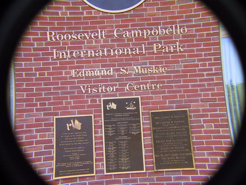 ROOSEVELT CAMPOBELLO INTERNATIONAL PARK