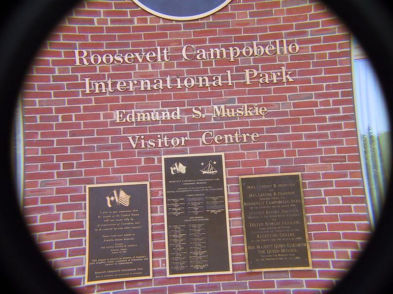 ROOSEVELT CAMPOBELLO INTERNATIONAL PARK