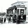 Tram no 19 at Hargreaves Fold, Lumb