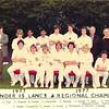 Under 15 Lancs Regional Champs 1977