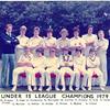 Under 15 League Champions 1979