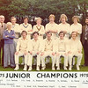 2nd XI 1975 - Junior Champions