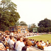 """""""Scoreboard when John Swanney reaches his maiden century""""  This was v East Lancs 06.09.1981.  118 not out."""