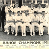 2nd XI 1971 - Junior Champions