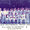 1979 Testimonial match for W G Lord, B A Manning & B W Chapman