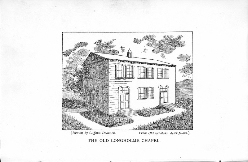History of Longholme Chapel 1921 001