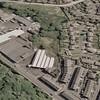 Rawtenstall Aerial view Reedsholme J B Broadley via Google Earth 2013