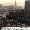 Rawtenstall demolishing railway bridge over Irwell 197211 JD