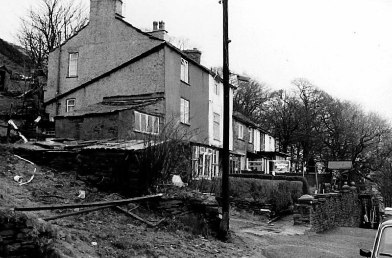 Rawtenstall Oakenhead Old Road cottage Cooper Family before emigrating to South Africa