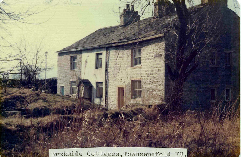 Rawtenstall Townsendfold Brookside Cottages JD 197803