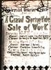 Rawtenstall Unitarian Church 1924 sale of work
