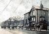 Rawtenstall Haslingden Road near Whittaker Park early 1900s