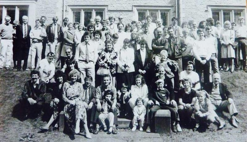Rawtenstall Lea Bank Reunion 1991