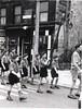 Rawtenstall St Mary's Cubs c1961 led by John Dickenson  Flag Bearer Neil Collier St James Square