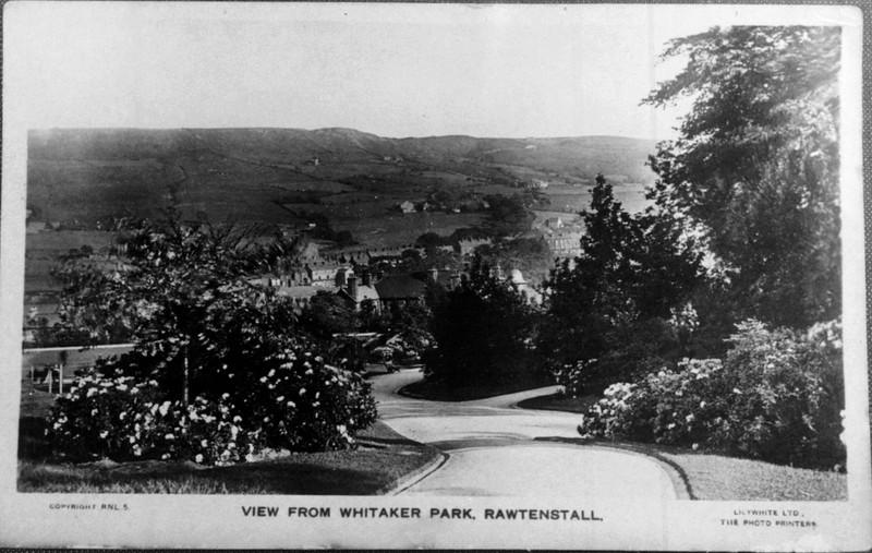 Rawtenstall View from Whittaker Park RFP