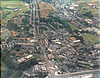 Rawtenstall from air 1983