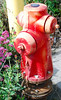 Red far hydrant, near Red Oak victory ship