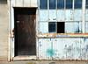 Warehouse door & windows, near Red Oak victory ship