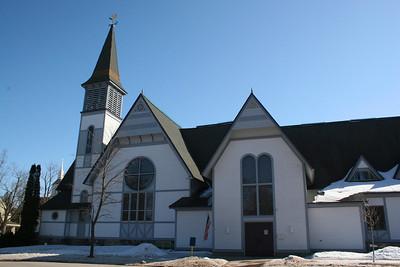 First Congregational Church (ca. 1885)