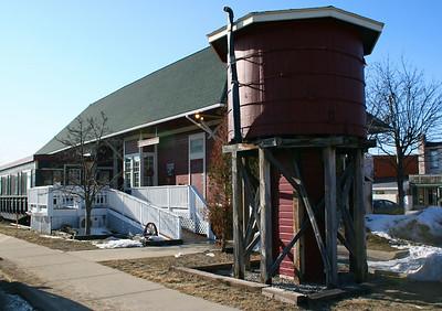 Boyne City, Alpena, & Gaylord Depot (ca. 1905)
