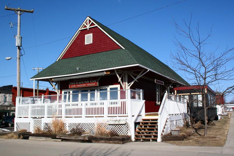 Boyne City, Alpena, & Gaylord Depot (ca.1905)