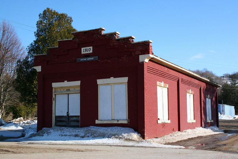 Boyne City Water Works Building (ca. 1910)