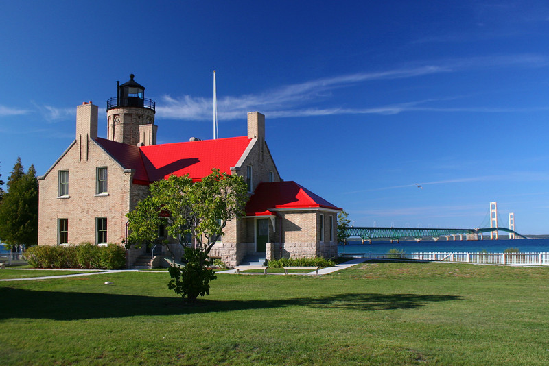 Old Mackinac Point Lighthouse (ca. 1892)