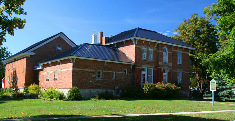 Cheboygan County Jail & Sheriffs Residence (ca. 1880)