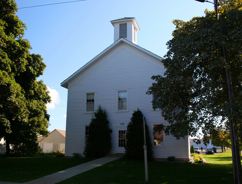 Old Cheboygan County Courthouse (ca. 1869)